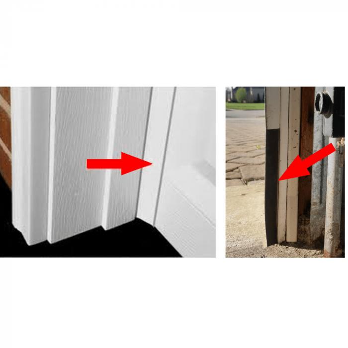 Garage Door Rodent Shield 25 Pack, How To Seal Garage Door Sides