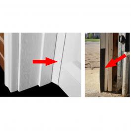 Garage Door Rodent Shield - 2 Door Kit
